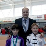 С тренером Андреем Геннадьевичем