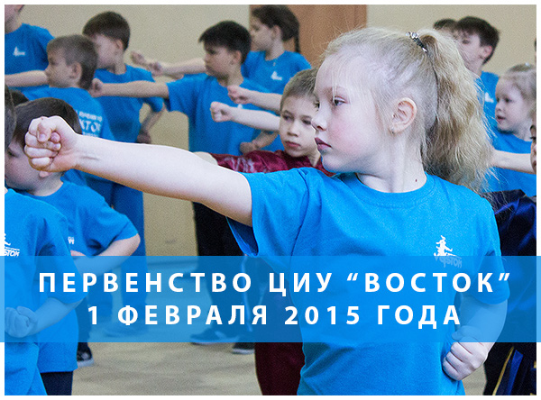 Первенство Центра изучения ушу Восток 2015