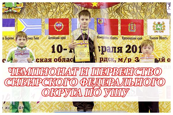 СФО по УШУ 2016